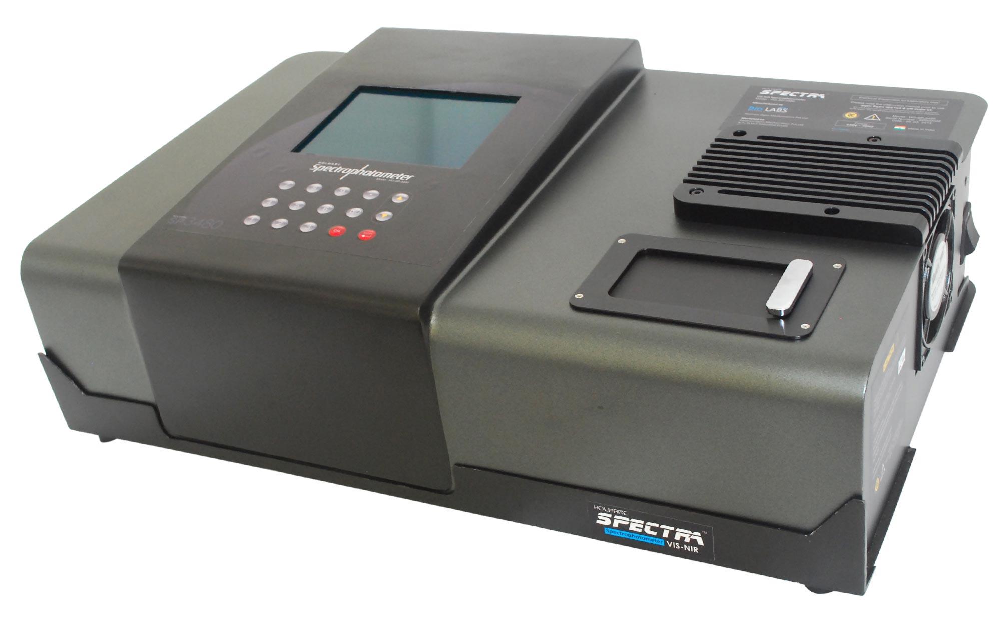 Double beam - UV-VIS-NIR Spectrophotometer